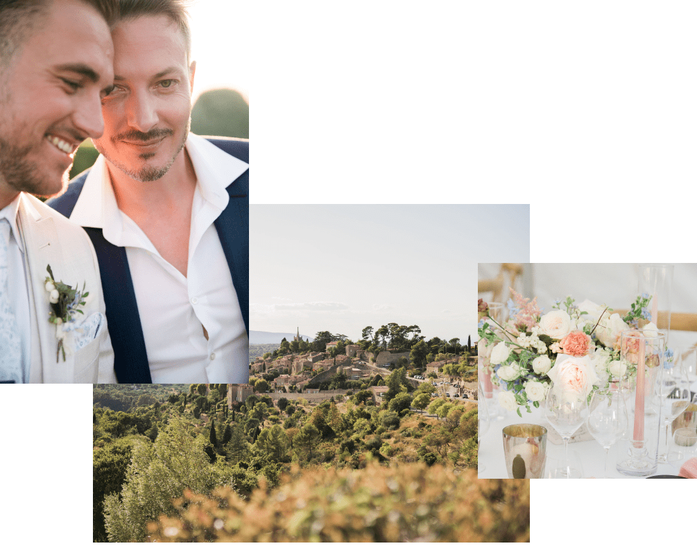 Sea Bride and Sun - organisation de mariage - Mariage en Provence - Anne-Sophie Amsellem